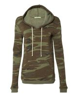 Alternative Eco-Fleece Women's Athletics Hooded Pullover 9596