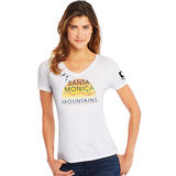 Hanes Santa Monica Mountains Outdoors National Recreation Area Women's Graphic Tee G9337P Y07800