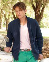 J. America Vintage Fleece Track Jacket 8984