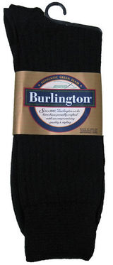 Burlington Mens Crew Sock 98% Cotton BB104