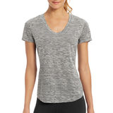 Champion Women C Vapor Dash Stripe Tee W30413