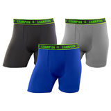Champion Men's Active Performance Regular Leg Boxer Brief 3-Pack CHARA1