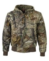 DRI DUCK Cheyenne Hooded Boulder Cloth Jacket with Tricot Quilt Lining 5020