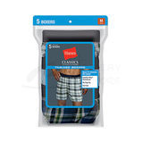Hanes Classics Mens TAGLESS Boxer with Comfort Flex Waistband 5-Pk 765BP5