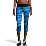 Hanes Sport Women's Performance Blocked Capri Leggings O9338