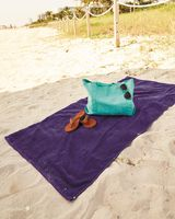 Q-Tees Velour Beach Towel QV3060