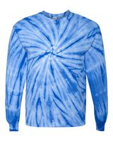 Dyenomite Cyclone Vat-Dyed Pinwheel Long Sleeve T-Shirt 240CY