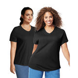 JMS Cotton Jersey V-Neck Short Sleeve T-Shirt, 2 Pack OJ0912