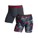 Champion Men's Ultra Lightweight Regular Leg Boxer Brief 2-Pack CHLWA3