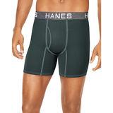 Hanes Ultimate™ Men's Comfort Flex Fit® Ultra Soft Cotton/Modal Boxer Briefs Assorted Colors 4-Pack UFBBA4