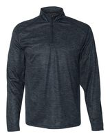 Badger Tonal Blend Quarter-Zip Pullover 4172