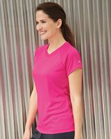 Champion Double Dry Women's V-Neck Performance T-Shirt CW23