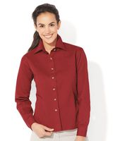 Sierra Pacific Women's Long Sleeve Cotton Twill Shirt 5201