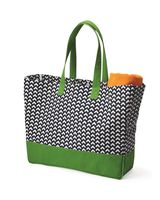 Brookson Bay Full-Pattern Beach Tote BB400