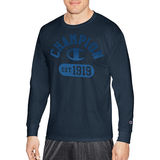 Champion Men Classic Jersey Long Sleeve Tee-Graphic - Gym Fade GT286