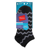 Hanes ComfortBlend Women's Low-Cut Socks 6-Pack 856/6