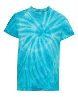 Dyenomite Youth Cyclone Vat-Dyed Pinwheel Short Sleeve T-Shirt 20BCY