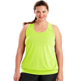 Just My Size Active Mesh Banded Tank OJ367