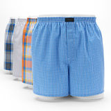 Jockey Men's Active Blend Cotton Woven Boxer - 4 Pack 9041