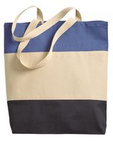 Q-Tees 11L Tri-Color Tote Q125900