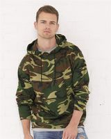 Code Five Adult Camo Pullover Fleece Hoodie 3969