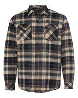 Burnside Quilted Flannel Jacket 8610