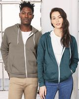 BELLA + CANVAS Unisex Sponge Fleece Full-Zip Hoodie 3739