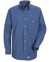 Red Kap Mini-Plaid Uniform Long Sleeve Shirt SP74