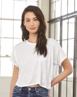 BELLA + CANVAS Women's Flowy Boxy Tee 8881