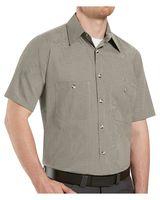 Red Kap Premium Short Sleeve Work Shirt Long Sizes SP20L