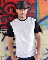 SubliVie Adult Blackout Polyester Sublimation Tee 1902