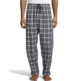 Hanes Men's Woven Stretch Plaid Pant 02000S