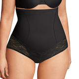 Maidenform Firm Foundations Curvy Hi Waist Brief DM1023
