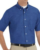 Red Kap Executive Oxford Dress Shirt Long Sizes SR60L