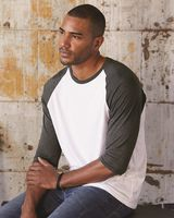 Anvil Triblend Raglan Three-Quarter Sleeve T-Shirt 6755