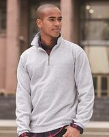 Jerzees SUPER SWEATS Quarter-Zip Cadet Collar Sweatshirt 4528MR
