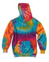 MV Sport Classic Fleece Tie-Dye Hood 1290