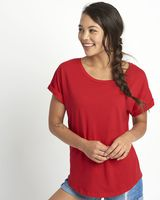 Next Level Women's Roll Sleeve Dolman 6360