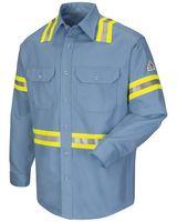 Bulwark Enhanced Visibility Uniform Shirt - Long Sizes SLDTL