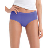 Hanes Women's No Ride Up Low Rise Cotton Brief 6-Pack PP38AS