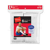 Hanes Mens Over the Calf Tube Socks 6-Pk 180/6
