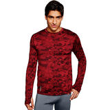 Duofold by Champion Brushed Back Men's Crew (Prints) KCB1P