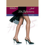 Hanes Silk Reflections Control Top Reinforced Toe Pantyhose 00718