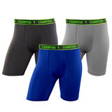 Champion Men's Active Performance Long Leg Boxer Brief 3-Pack CHALA1