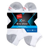 Hanes Mens X-Temp Comfort Cool No Show Sock 6-Pk CC12/6