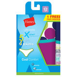 Hanes Girls Ultimate X-Temp Bikini 5-Pack GUBKP5