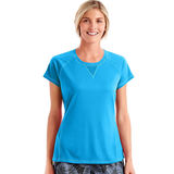 Hanes Sport Women's Performance Tee with Mesh Insets O9345