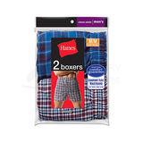 Hanes Mens Tartan Boxers with Comfort Flex Waistband 2-Pk 838VTY