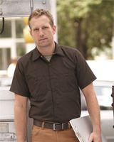 Red Kap Industrial Short Sleeve Work Shirt SP24