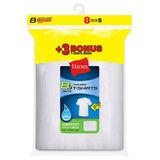 Hanes Boys' ComfortSoft Crewneck Undershirt 8-Pack B213N8